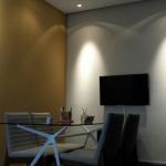Sala de reunião com Automação
