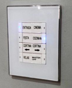 Automação Residencial MaxHaus - Teclado de controle