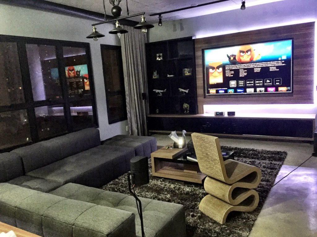 Automação Residencial para cortinas, televisão e home theather