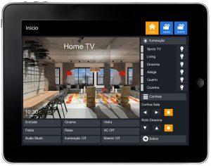 App iPad personalizada para automação residencial