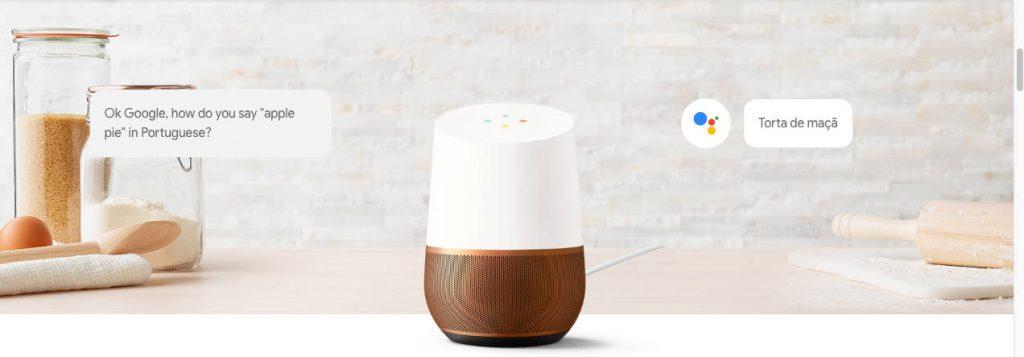 Google Home Assistente por Voz